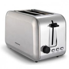 Morphy Richards Stainless Steel 2 Slice Toaster   377310