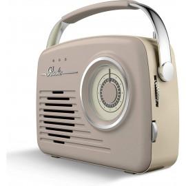 AKAI Vintage Radio TAUPE   A60014VT