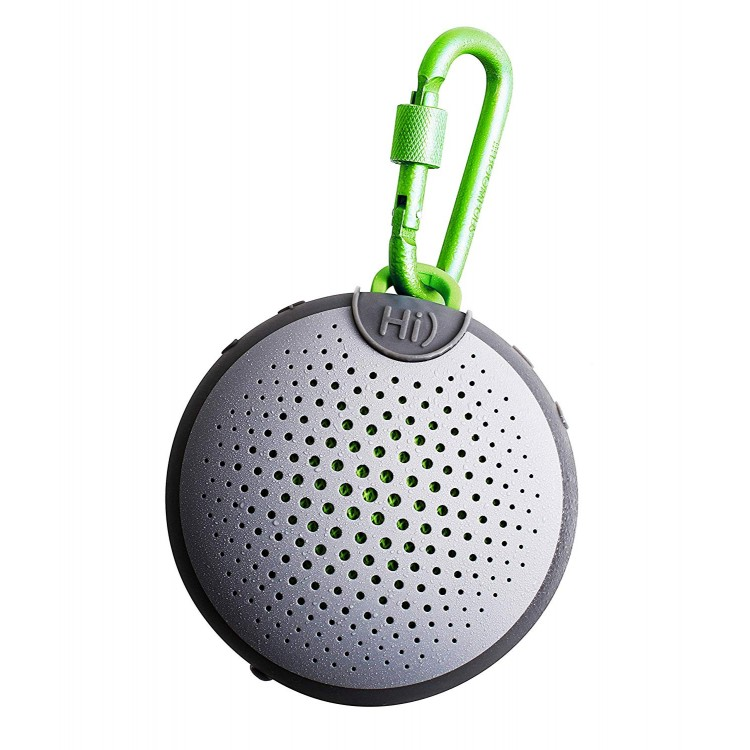 Boompods Aquablaster Bluetooth Wireless Speaker Alexa Enabled Grey-Green | ABGRN
