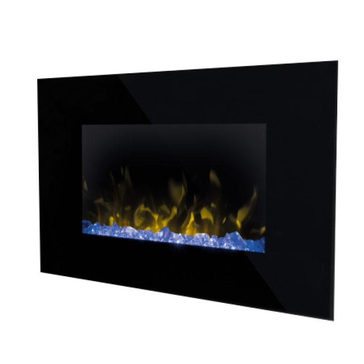 Dimplex Artesia Wall Mounted Fire Black | ART20