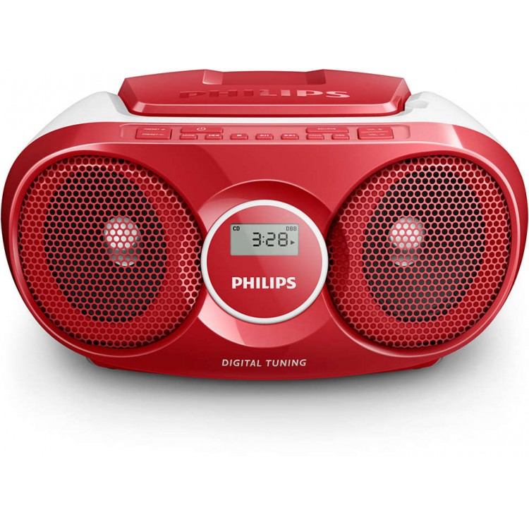 Philips CD Soundmachine Red | AZ215R-05