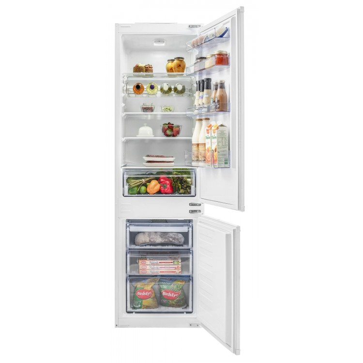 BEKO Integrated Frost Free Combi Fridge Freezer BCFD173