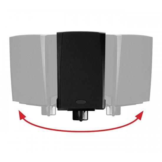 B-Tech Side Clamping Loudspeaker Wall Mount with Tilt & Swivel   BT77