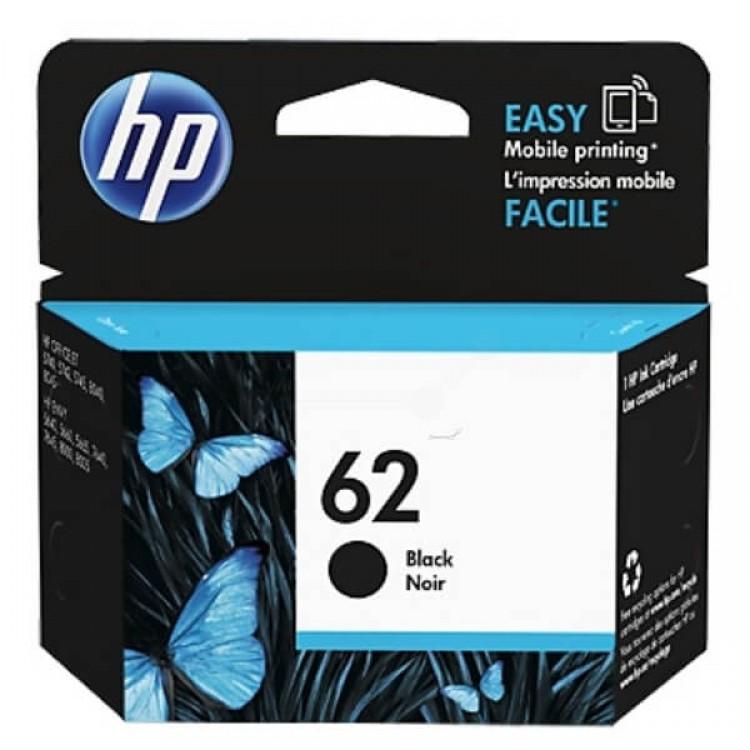 HP 62 Black Ink Cartridge C2P04AE