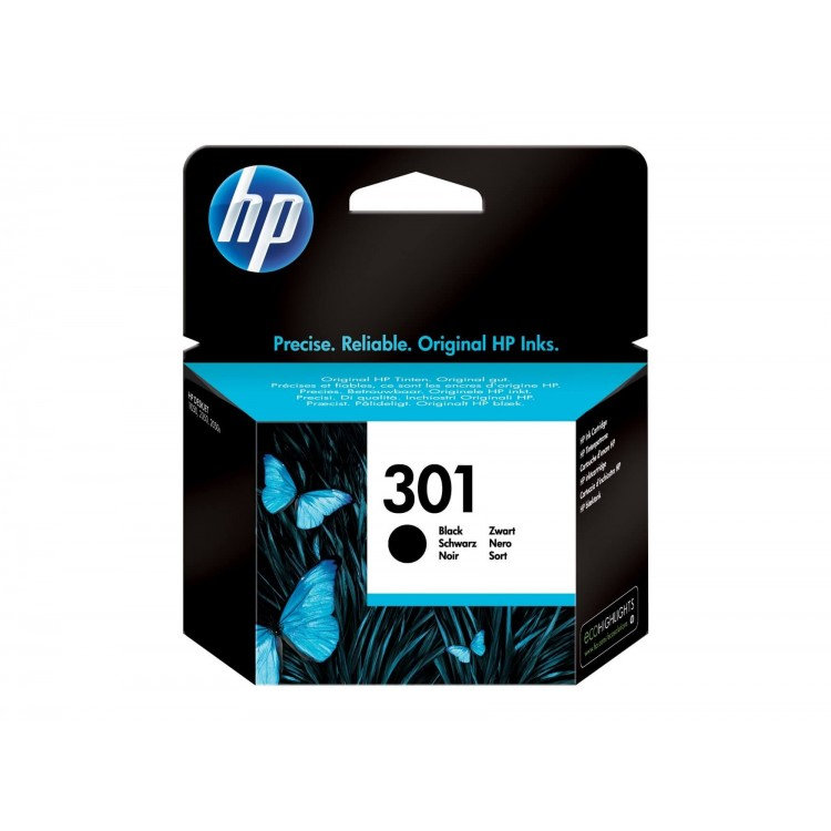 HP 301 Black Original Ink Cartridge | CH561EE