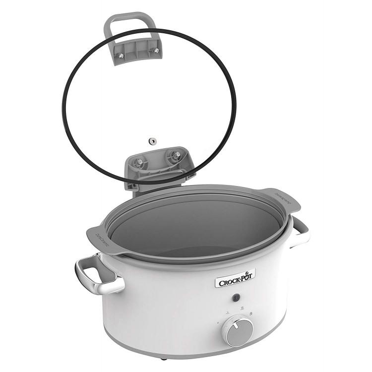 Crock-Pot 4.5L Hinged Lid Sauté Slow Cooker | CSC038