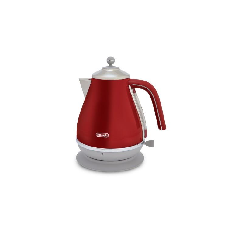 De'longhi Icona Capitals Red Kettle | KBOC3001.R