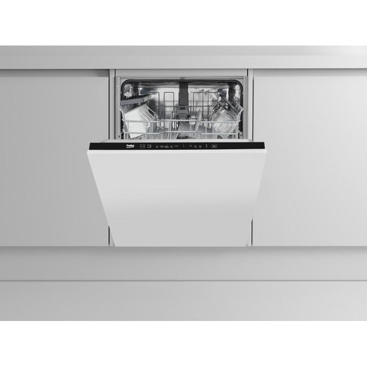 Beko Integrated 60cm Dishwasher | DIN15310