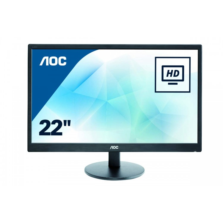 "AOC 21.5"" Full HD Monitor 