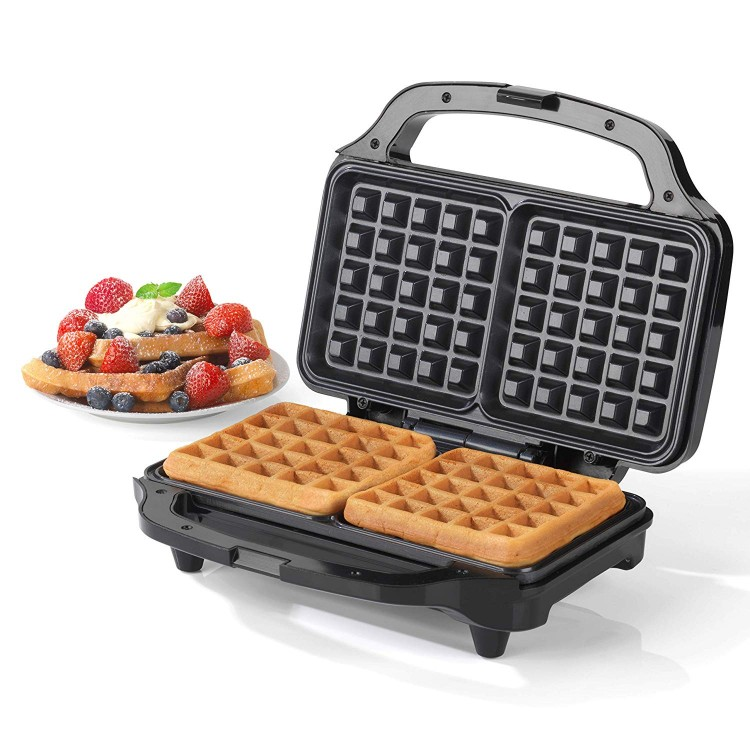 Salter EK2249 Deep Fill Waffle Maker with XL Non-Stick Cooking Plates