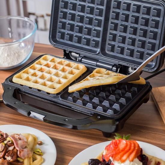 Salter EK2249 Deep Fill Waffle Maker with XL Non-Stick Cooking Plates