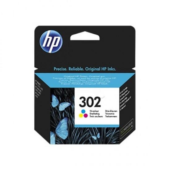 HP 302 Tri-color Original Ink Cartridge | F6U65AE