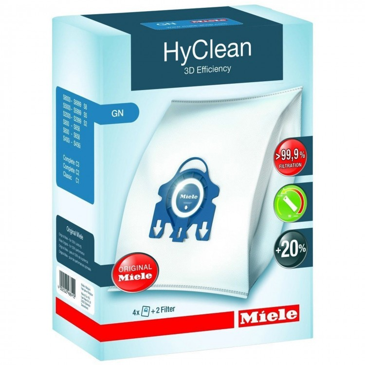 Miele GN HyClean 3D Efficiency Dustbags | 488492