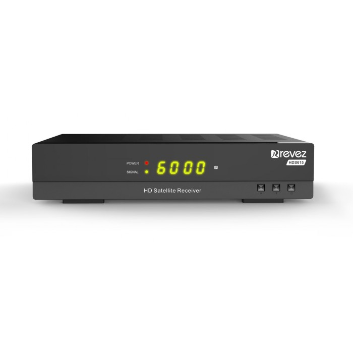 revez hds615 full hd satellite receiver pvr 252744. Black Bedroom Furniture Sets. Home Design Ideas