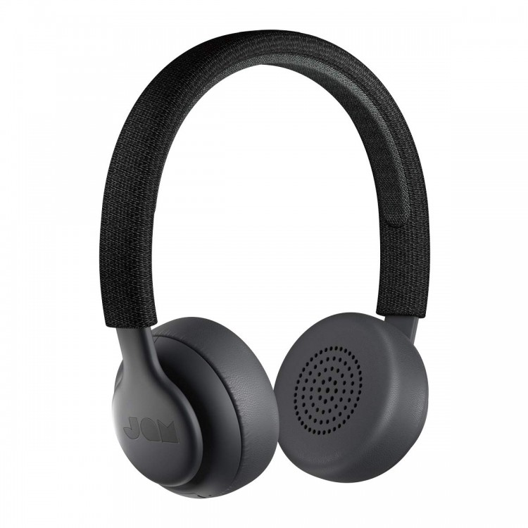 Jam Been There On-Ear Wireless Headphones Black | HX-HP202BK
