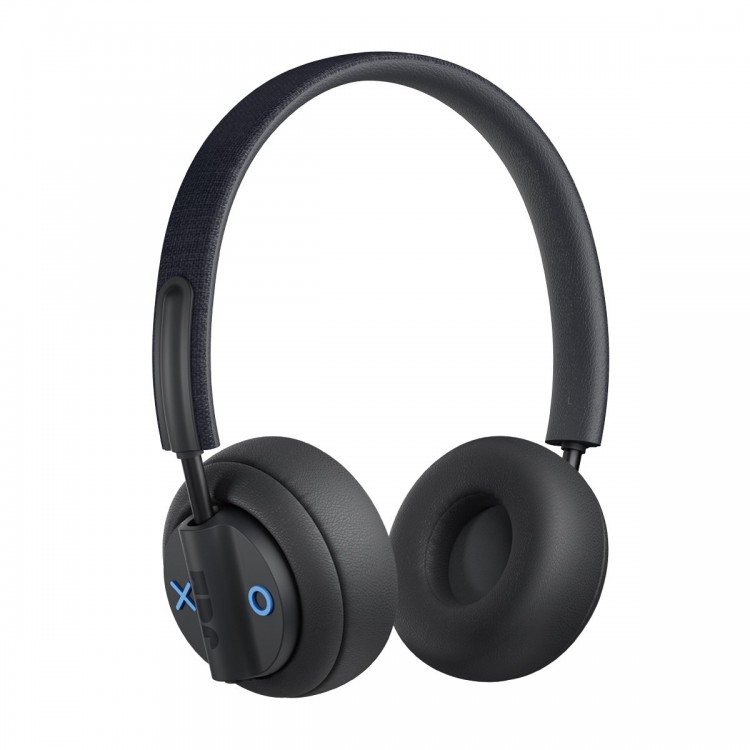 Jam Out There On-Ear Wireless Active Noise Cancelling Headphones Black   HX-HP303BK