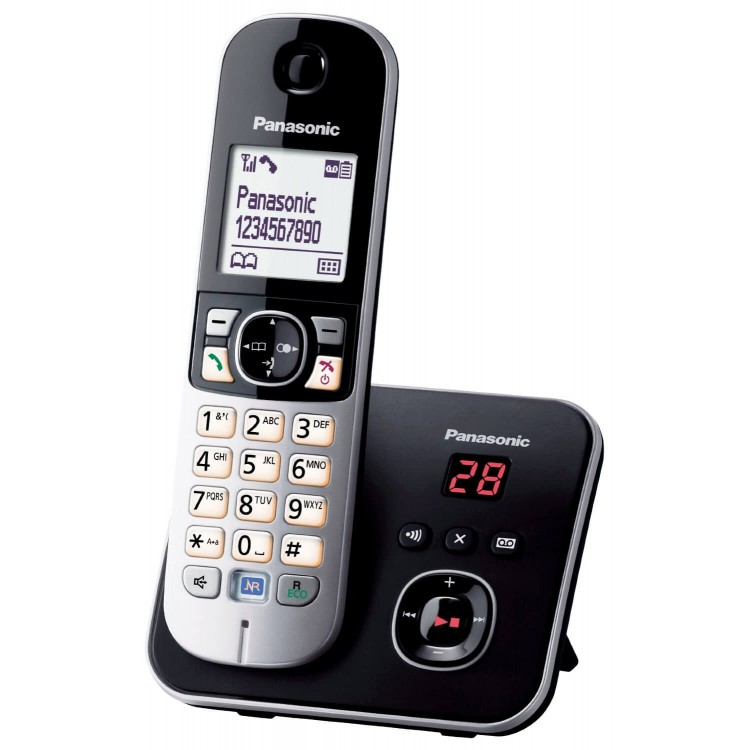 Panasonic KX-TG6821 Cordless Phone with Answering Machine