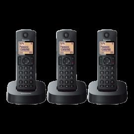 Panasonic Digital Cordless Phone with 3 Handsets | KX-TGC313CX