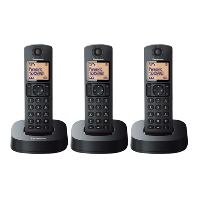 Panasonic Digital Cordless Phone with 3 Handsets | KX-TGC313CX