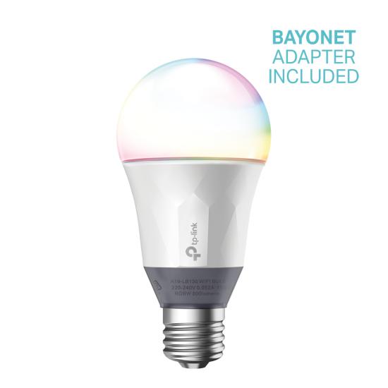 TP-Link Kasa Smart Wi-Fi LED Bulb with Multicolour   LB130