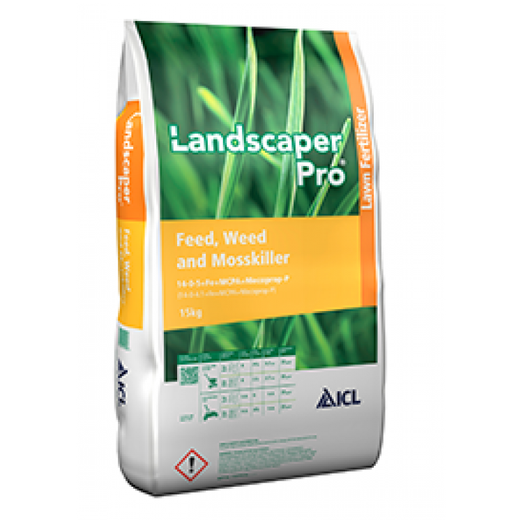 Landscaper Pro Lawn Feed Weed and Moss Killer 15kg