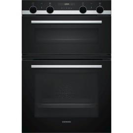 Siemens MB557G5SOB iQ500 Double Multi-Function Oven Black