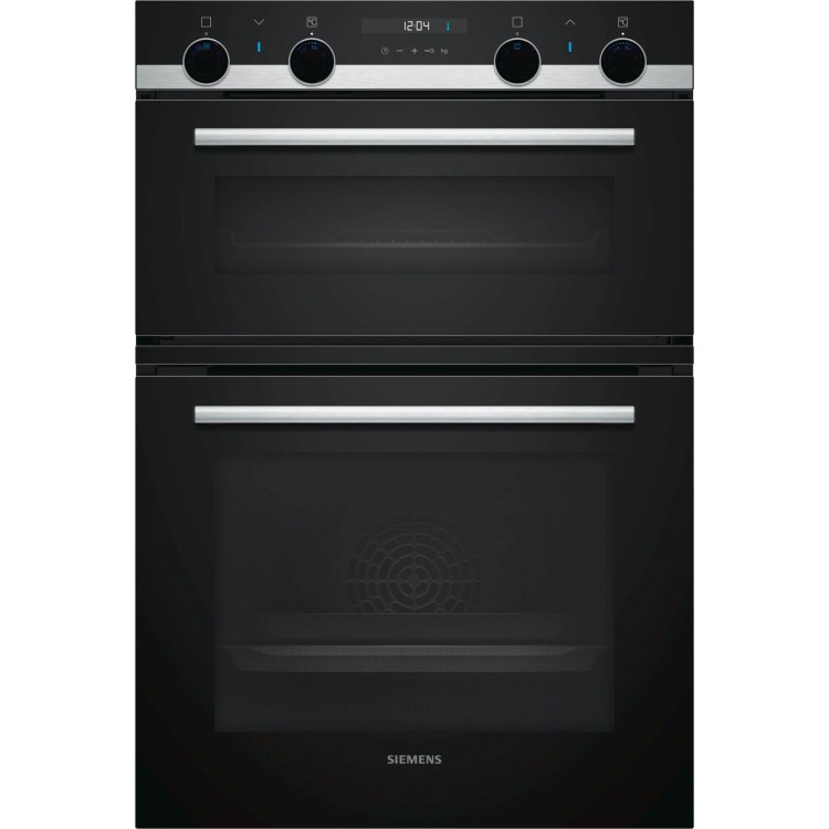 Siemens MB557G5SOB iQ500 Double Multi-Function Oven Black