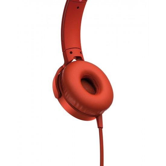 SONY Extra Bass Headphones RED | MDRXB550APR