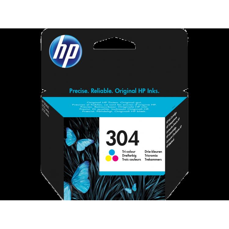 HP 304 Tri-color Original Ink Cartridge | N9K05AE