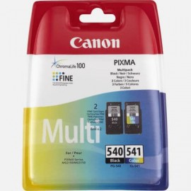 Canon C/M/Y Ink Cartridge Multipack | PG-540/CL-541