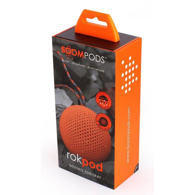 Boompods Rokpod Wireless Speaker Orange   ROKORA