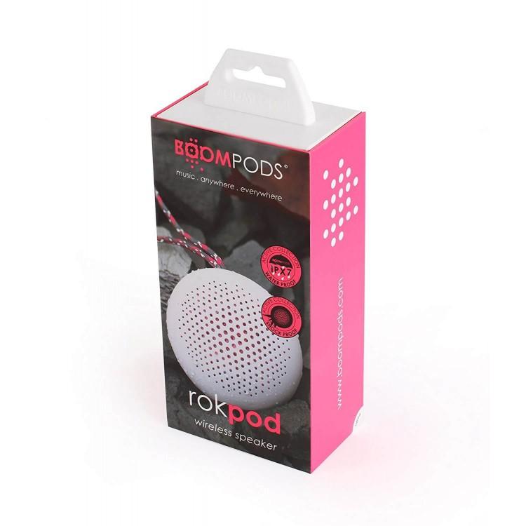 Boompods Rokpod Wireless Speaker White   ROKWHT