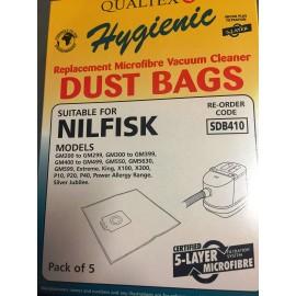 QUALTEX NILFISK VACUUM CLEANER BAGS | SDB410