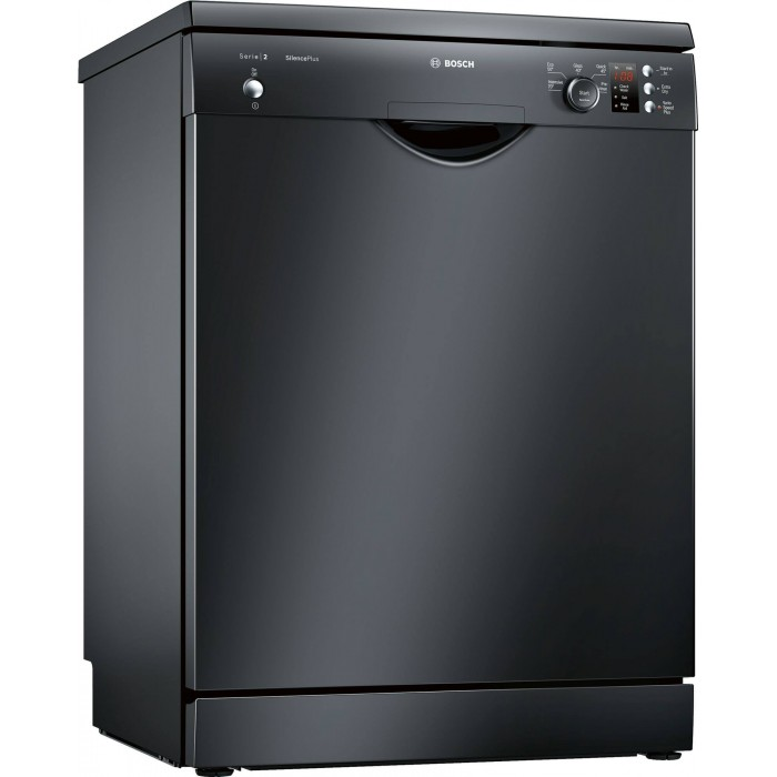 Bosch Serie 2 Activewater 12 Place Black Dishwasher Sms25ab00g