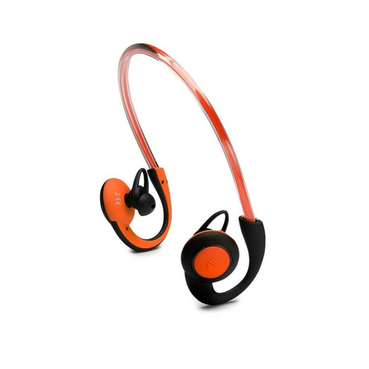 Boompods Sportpods Vision Illuminating Headphones Orange | SPVORA