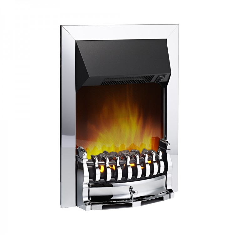 Dimplex Stamford Chrome Optiflame Electric Inset Fire | STM20CH