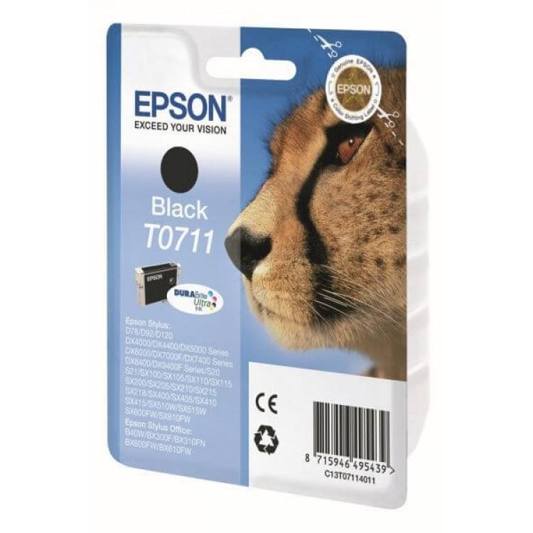 Epson T0711 Black Ink Cartridge | T07114011