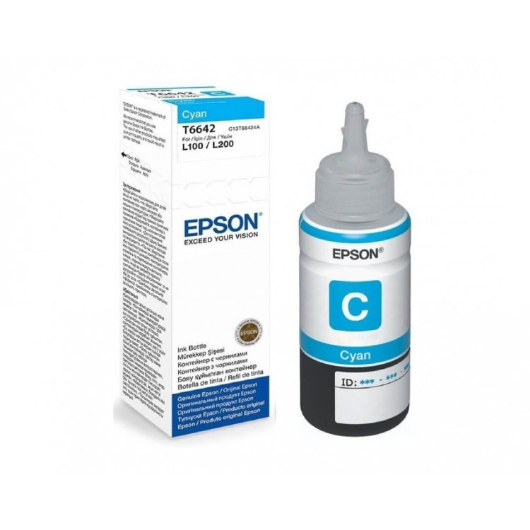 Epson T6642 Cyan Ink Bottle | T664240