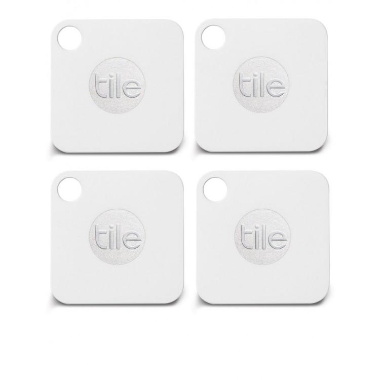 Tile Mate Bluetooth Tracker - 4 PACK  | RT-13004