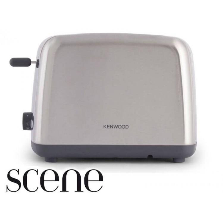Kenwood Scene 2 Slot Toaster Brushed Metal   TTM440