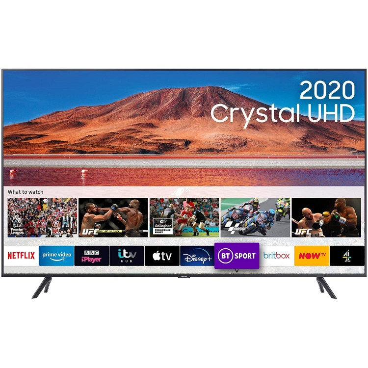 Samsung TU7100 HDR Smart 4K TV with Tizen OS 43"