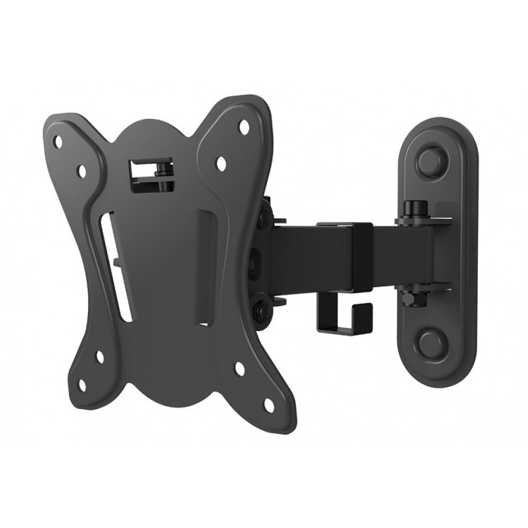 """Techlink Single arm support folds flat to wall for screens from 13"""" up to 27"""" - TWM102"""