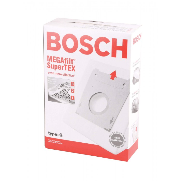 Bosch Type G Genuine Vacuum Cleaner Bags