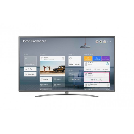 LG UN81 4K Smart UHD TV 75"