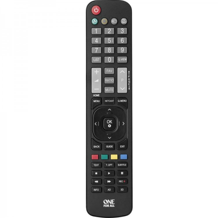 One For All LG Replacement Remote URC1911
