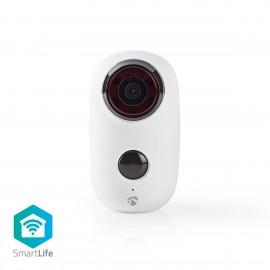 Nedis Rechargeable IP Camera | Outdoor | PIR Motion Sensor | microSD | 6000 mAh | WIFICBO10WT