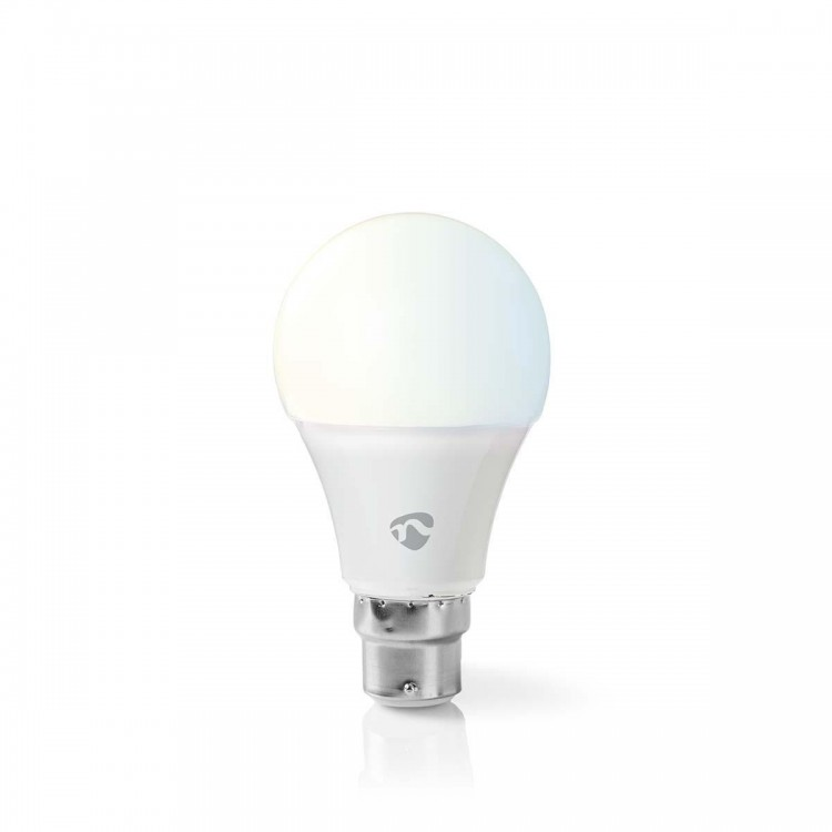Nedis WiFi Smart LED Bulb - Warm to Cool White - B22 - WIFILW10WTB22