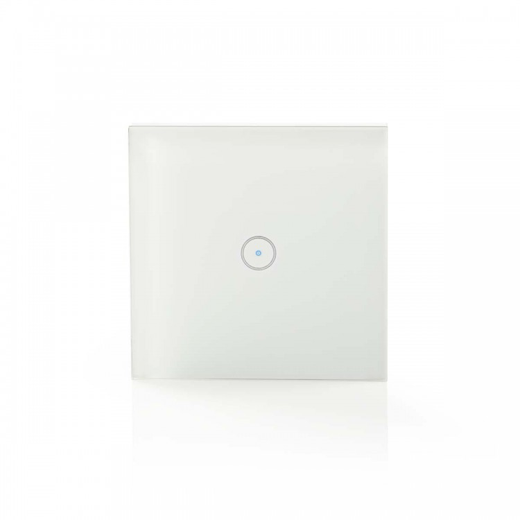 Nedis WiFi Smart Light Switch   Single WIFIWS10WT