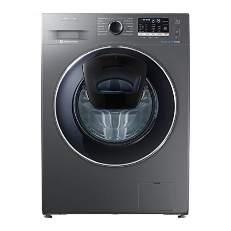 Samsung WW5500 AddWash™ Washing Machine with ecobubble™  8kg 1400RPM - Graphite - WW8055410UX