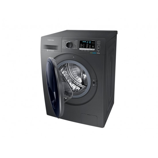 Samsung WW5500 AddWash™ Washing Machine with ecobubble™  8kg 1400RPM - Graphite - WW8055410UX
